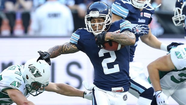 In 2012, the Argonauts' Chad Owens set the all-time record for all-purpose yards (3,863) in a single season and was voted the league's outstanding player. After playing 13 games last season (2,172 yards), what could he do in a potentially healthy 2014 campaign?