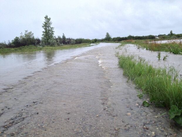 Blood reserve flooding