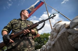 Ukraine crisis pro-Russian separatist