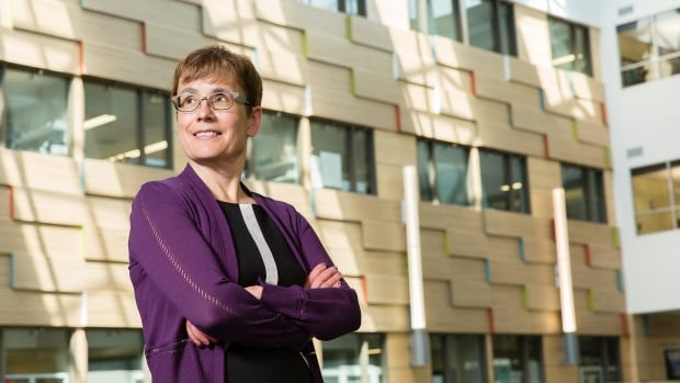 Annette Trimbee has been appointed the University of Winnipeg's seventh president. She replaces Lloyd Axworthy, who has been at the helm of the university for the past 10 years.