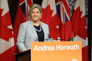 Andrea Horwath NDP leader re not supporting budget