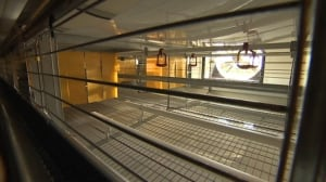 EU- humane standard cages at Burns Poultry Farm