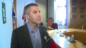 Happy Valley-Goose Bay Mayor Jamie Snook