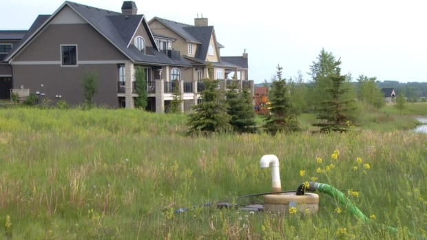 Residents of Elbow Valley West pay $440 per month to have their sewage trucked to Calgary. A proposed local treatment plant would change that.