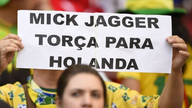 Mick Jagger, World Cup