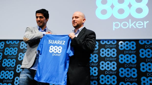 Luis Suarez recently signed a deal with 888poker. But the company says it's now reconsidering its sponsorship of the soccer player following the biting incident from the FIFA World Cup.