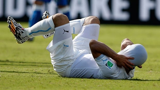 Another biting incident by Uruguay Luis Suarez has reduced the star striker to a punchline.