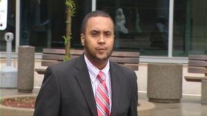 Mohamed Hersi outside court