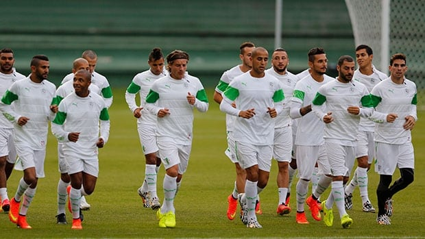 Algerian players can make history on Thursday by beating Russia and advancing to the Round of 16.
