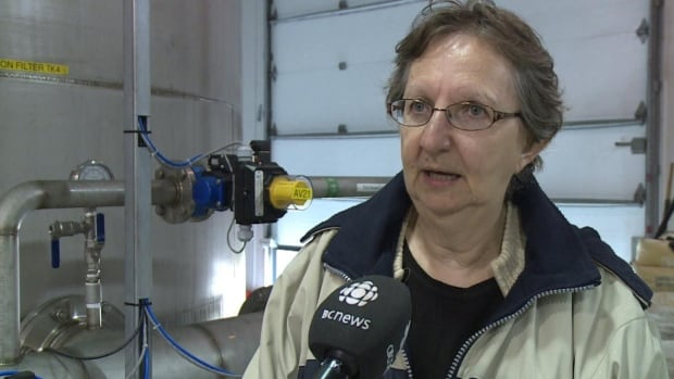 Burgeo Mayor Barbara Barter says residents are looking forward to drinking from their own taps by the end of the year.