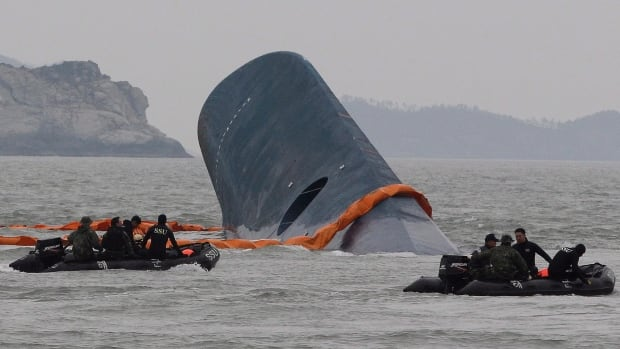 The Sewol sank off South Korea's southwest coast on April 16 on a routine journey from Incheon on the mainland to the southern holiday island of Jeju.
