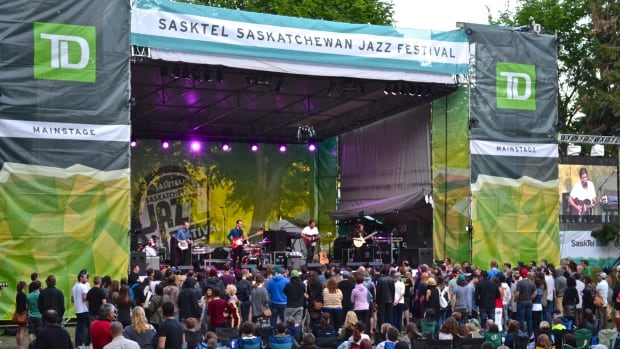 Reuben and the Dark performs at the Saskatchewan Jazz Festival on Monday night.