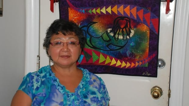 Veronica Puskas, who grew up in Nunavut's Kivalliq region, won the award for Excellence in Work by a first-time exhibitor award at Quilt Canada's national juried show in St. Catharines, Ont.