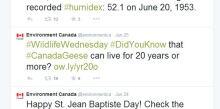 Environment Canada tweets skpic