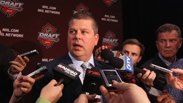Maple Leafs general manager Dave Nonis will likely attract a lot of media attention with the eighth-overall pick in the NHL draft.