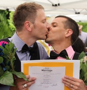 Casa Loma gay wedding