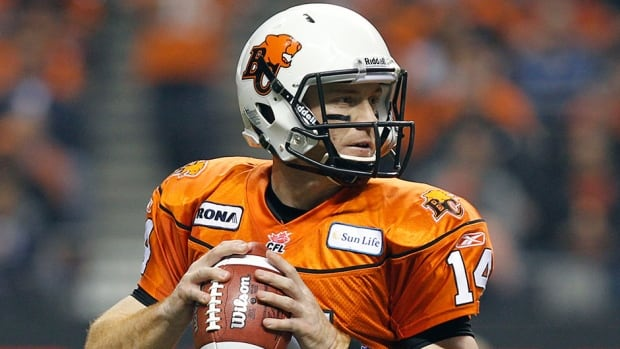 B.C. Lions quarterback Travis Lulay was originally placed on the one-game injured list.