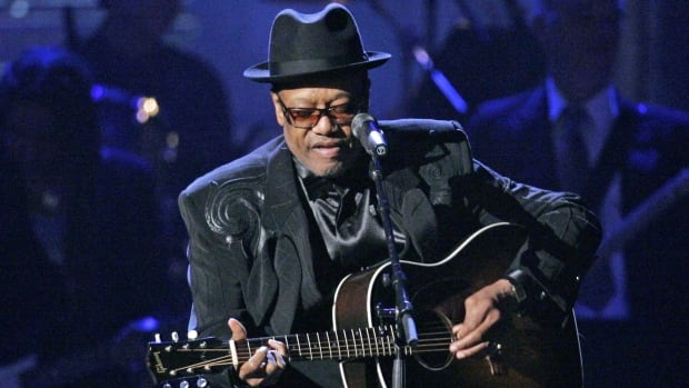 Bobby Womack performs after being inducted into the Rock and Roll Hall of Fame in 2009 in Cleveland. The soul legend died Friday at the age of 70.