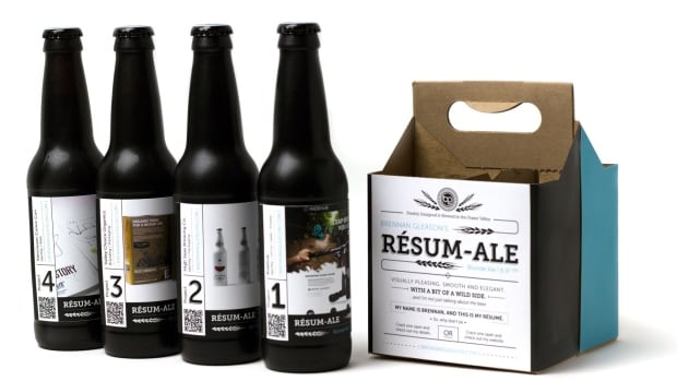 "Brennan Gleason sent out four-packs of homebrew branded as his ""Resume-Ale"" earlier this year. The stunt worked — he got job offers — and also got him a lot of attention: ""I honestly have no idea how this took off and went viral,""  he says."