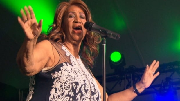 Aretha Franklin performed at the Ottawa Jazz Festival on June 28, 2014.