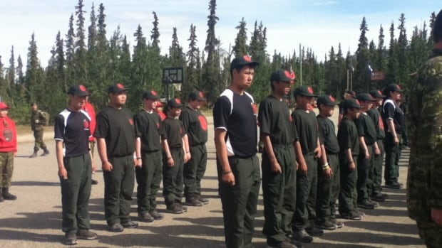 More than 200 Junior Canadian Rangers from 36 different communities across the North completed training in Whitehorse Saturday.