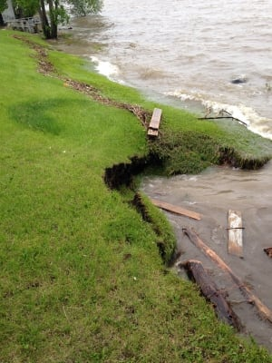 Couchiching First Nation flooding
