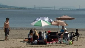 Quebec swimming heatwave