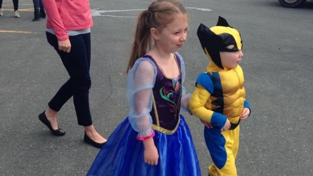 Children came dressed as their favourite superheroes as part of MADD Avalon's annual Strides For Change walk.