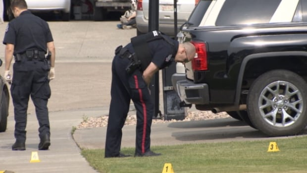 Police are investigating after a mid-day shooting in north Edmonton on Sunday left neighbours shaken and concerned.