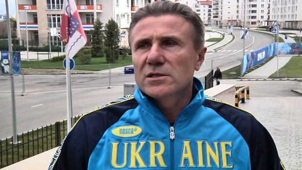 Former pole vault great Sergei Bubka of Ukraine, seen in February, is a member of the International Olympic Committee.