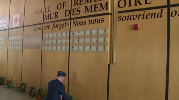 The new Wall of Remembrance is located in Credit Union Place in Summerside.