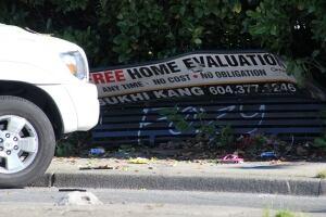 Surrey bus stop accident - June 30, 2014
