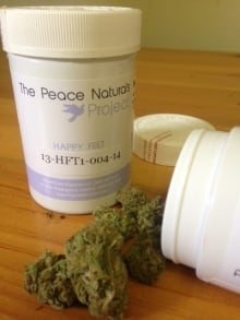 Medical marijuana Peace Naturals Project