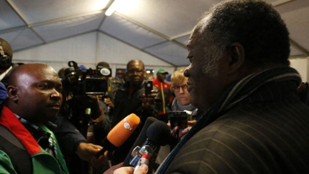 Chairman of Cameroon Football Federation Joseph Owona, right, said its ethics committee had been instructed to investigate the claims of match-fixing in their World Cup group games.