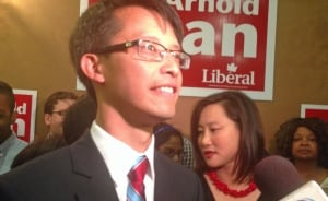 Arnold Chan elected in Scarborough-Agincourt