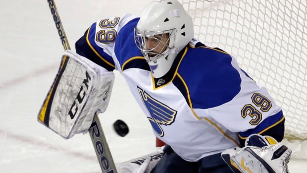 The Vancouver Canucks filled a need in goal Tuesday, signing free agent Ryan Miller, formerly of the Blues. He reportedly agreed to a three-year contract worth $18 million US.