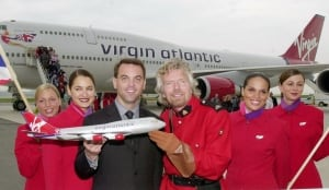 Tim Hudak and Richard Branson