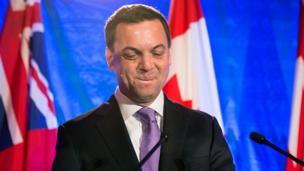 Tim Hudak made it clear in his concession speech on election night that he would be stepping down as leader of the Ontario Progressive Conservatives.