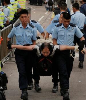 Hong Kong China Tension