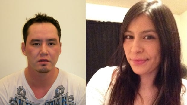 RCMP are looking for Kevin Brian Henderson (left) and Shantel Laureen Mike (right).
