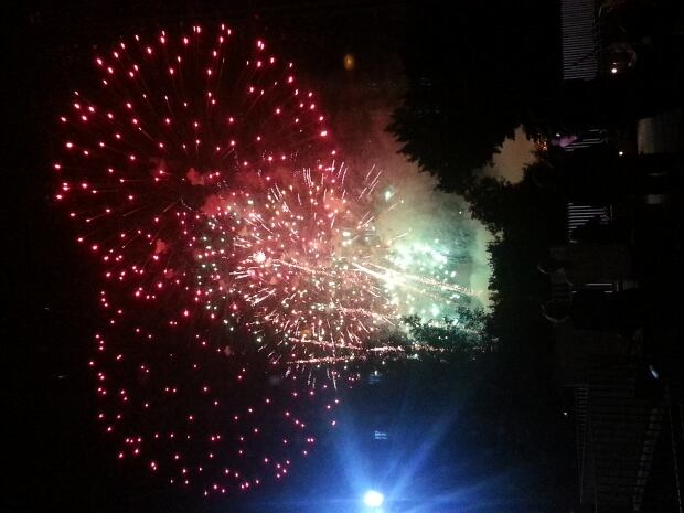 Regina fireworks July 1, 2014