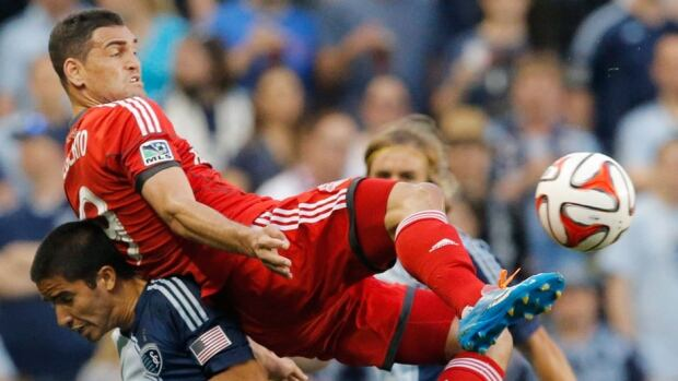 Toronto FC forward Gilberto will not suit up for Wednesday's game against the Fire in Chicago due to a nagging hip flexor injury. The Brazilian attacker scored his first MLS goal in last Friday's 2-2 draw in New York.