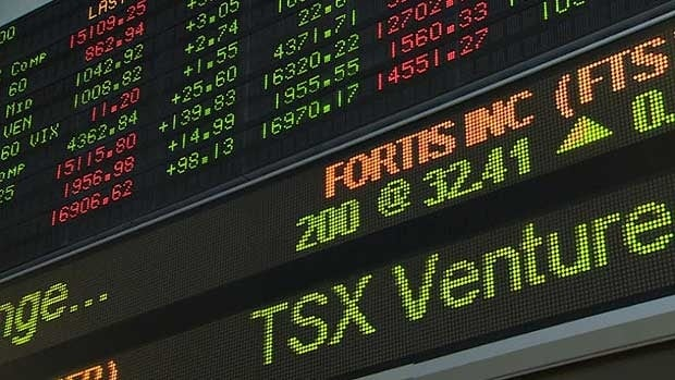The TSX continued to set records Wednesday soaring to 15,524.