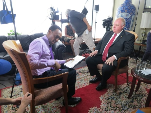Dwight Drummond sits down with Mayor Rob Ford