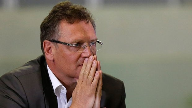 """FIFA Secretary General Jerome Valcke acknowledged that """"maybe there were too many people who were drunk"""" at the matches and pointed to the connection between inebriation and violence."""