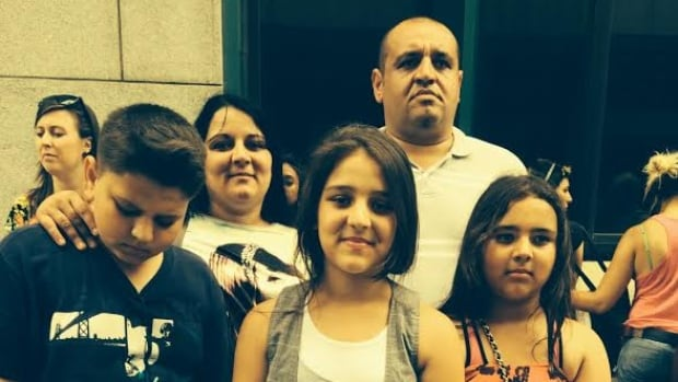 Renata and Tibor Buzas and their children Tibor,13, Mercedesz, 11, and Lili, 9 left Hungary in 2011.