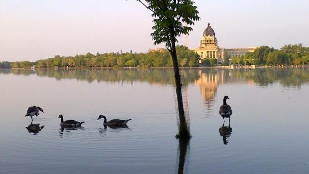The Saskatchewan Legislature, in Regina.