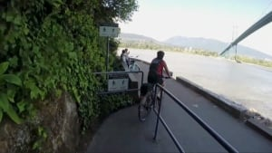 Cyclists - Vancouver's Stanley Park Seawall