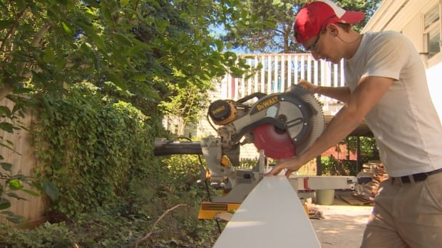 The province received more than 620 applications for its home renovation program.