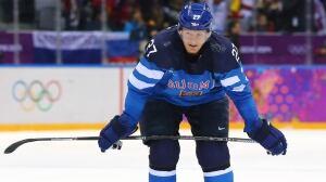 Petri Kontiola helped Finland win bronze at the 2014 Sochi Olympics.
